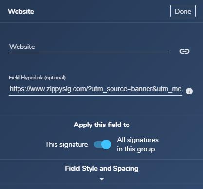 adding utm url using gimmio