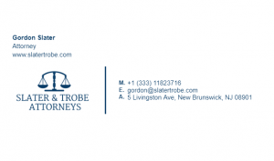 Email Signature Example for Attorney