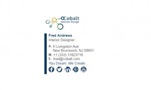 Email Signature Example for Interior Designer
