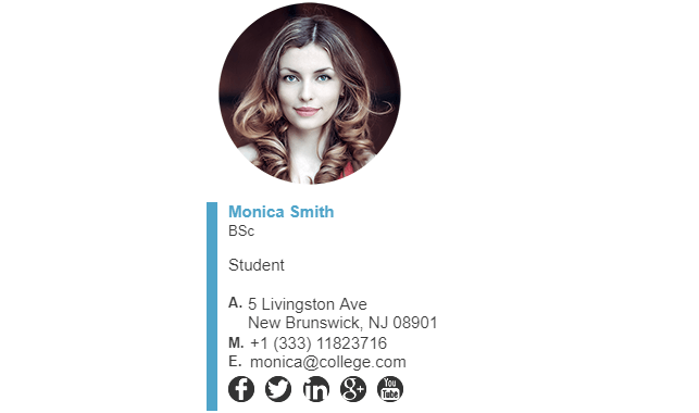 College Student Email Signature Tips and Examples | ZippySig